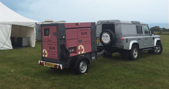 Wedding Power Hire Cornwall Devon Ellis Electrical Generators Hire